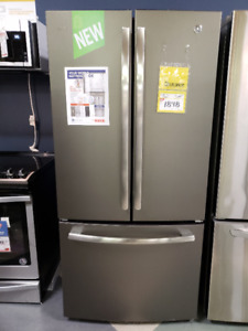 GE 24.8 Cu. Ft. French-Door Refrigerator with Internal Water Dis