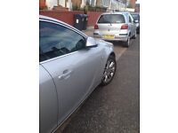 Vauxhall Insignia Birmingham plated taxi 59 reg