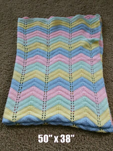 Home-made Knit Blanket