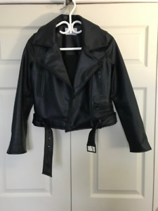 Great condition Oak+Fort XS leather jacket