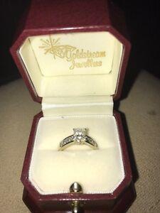 1.22 ct diamond engagement ring