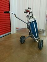 "Golf club RH (10) and great cart. Only $69. for 5'5"" person."