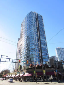 Newly Renovated Furnished 2 Bedroom 1 Bathroom Yaletown Condo