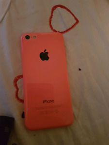 Telus 16gb pink iPhone 5c *180 Or best offer.