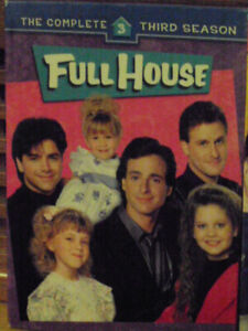 a complete season 3 mint cond  full house dvd orig series