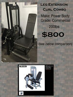 Heavy Duty Commercial Grade Gym Equipment