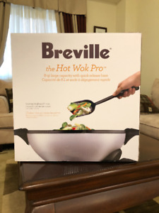 ** BNIB ** Breville Hot Wok Pro (Original Price $200 + HST)
