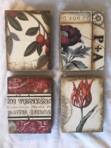 Four Sid Dickens Memory Blocks, two retired