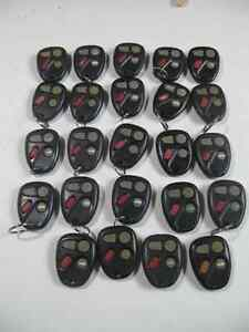 GM CAR KEYLESS ENTRY REMOTE CONTROLS (CAR KEY FOBs) Kitchener / Waterloo Kitchener Area image 1