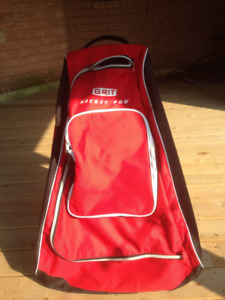Grit Hockey Bag--Excellent Condition!! Only 1 year old