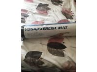 Yoga exercise mat new!