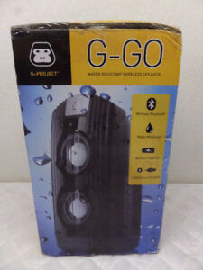G-Project G-Go portable water resistant bluetooth wireless speak