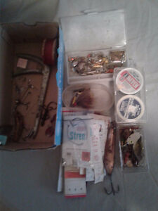 LOT #3  FLY FISHING FLIES & LURES & MISC
