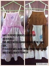 Cinderella costume (reversible) Greenfields Mandurah Area Preview