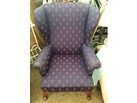2x Parker knoll armchairs
