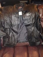 Brand new Men's Leather FORD Jacket