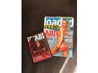 Loaded men's magazine with Abi Titmuss dvd