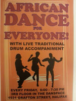 AFRICAN DANCE FOR EVERYONE! With live drumming