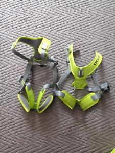 Two- Edelrid Fraggle full body child climbing harness