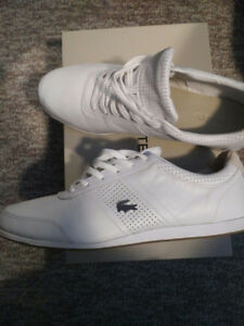 Lacoste Embrun Men's Sneakers in White - Size 12