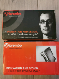 Brembo brake pads font and rear