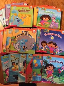 Collection of children's books- Dora, Diego, Blues Clues