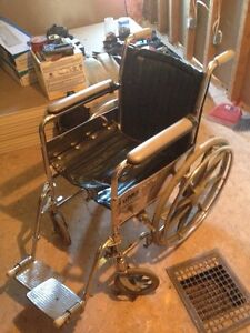 Lumex folding wheelchair