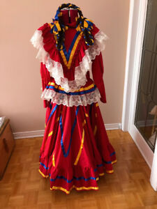 Mexican Custom tailored Traditional Dress