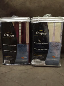 Eclipse Window curtains - Brand new & brand name