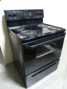 ~~~Used Frigidaire Coil  Stove In Black