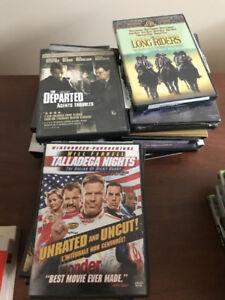 DVDs de films récent et des classiques.