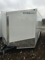 2015 Stealth Titan Enclosed Trailer 8.5x18 Ramp Door 3yrWarranty