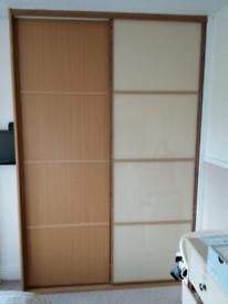 Sliding wardrobe doors 236 x 81cm