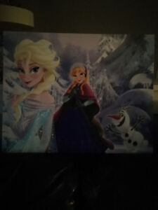 Frozen Wood canvas $15