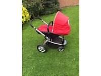 3 in 1 mothercare my4 buggy