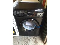 New Graded Bush 7kg Washing Machine - Black
