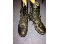 Arm cadet /work boots pop size 9