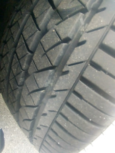 Volkswagen low profile tires and rims 95% threads