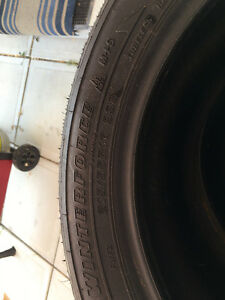 New barely used studed tires for sale