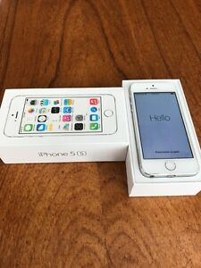 iPhone 5s (silver 32 GB)