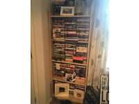 Wood 'effect' DVD/bookcase