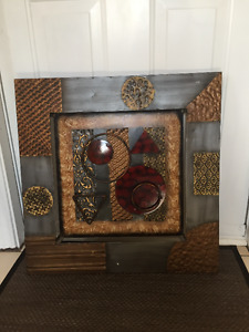 Beautiful Metal Wall Hanging For Sale!