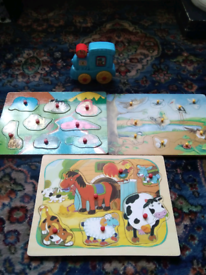 Childs wooden shapes