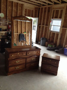 Dresser & Night Table For Sale Cornwall Ontario image 1