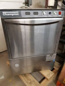 COMMERCIAL GRADE UNDER COUNTER CHAMPION DISHWASHER