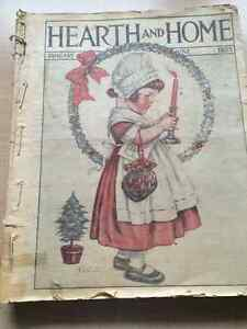 """""""Complete Year of Hearth And Home Magazines - 1925"""""""