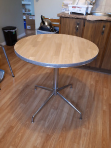 """Small round table 30"""" wide 30"""" high"""