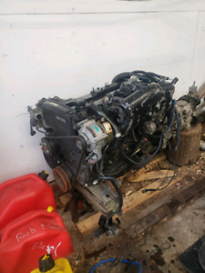 7mgte engine removal