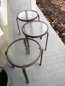 "Patio Tables 16"" Round 18"" High"