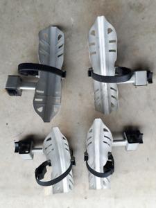 8 gouttières/supports pour vélo allant support Swagman